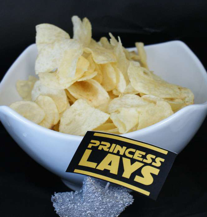 Star Wars Party Princess Leia Chips