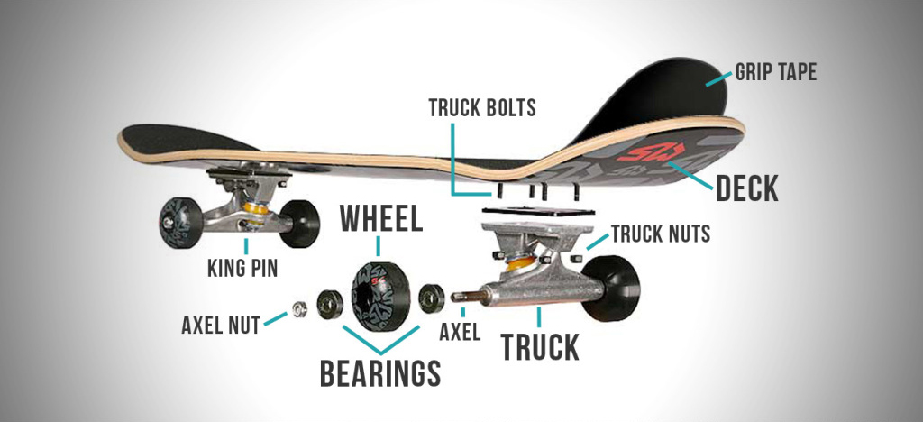 Parts-Skateboard-Components