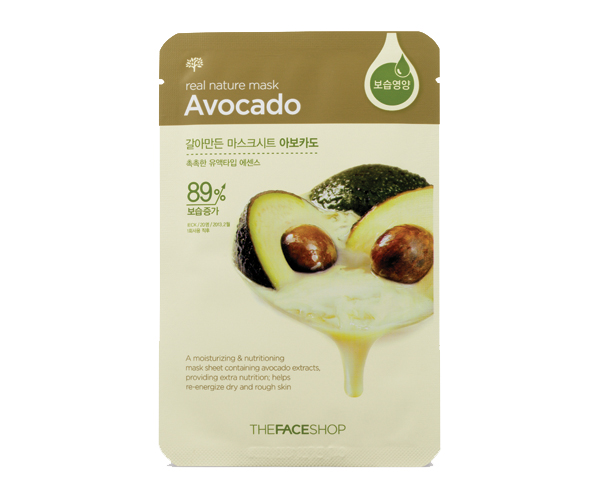 The-Face-Shop-Real-Nature-Avocado-Mask-Sheet