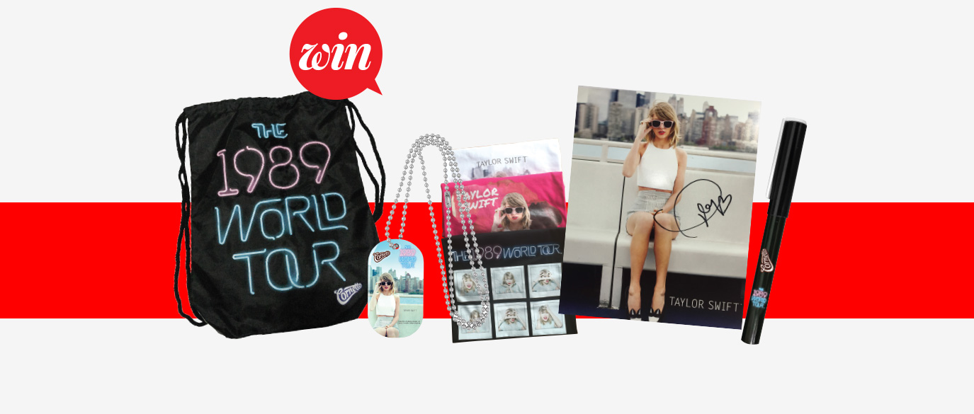 Teenage Giveaway-Taylor Swift Cornetto Gift Packs Featured Image