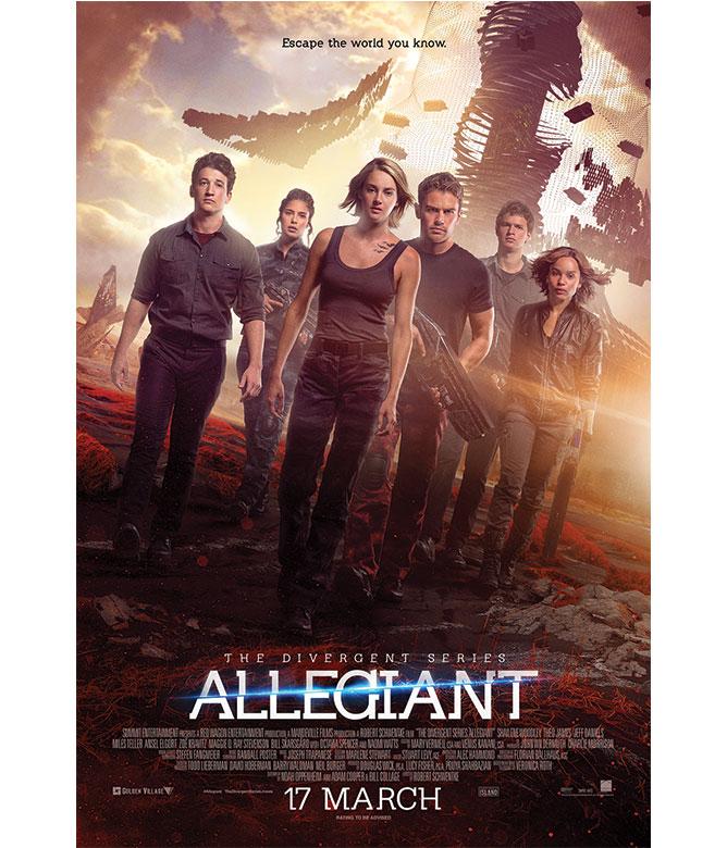 Win The Divergent Series Allegiant Movie Merchandise Movie Giveaway Teenage Magazine