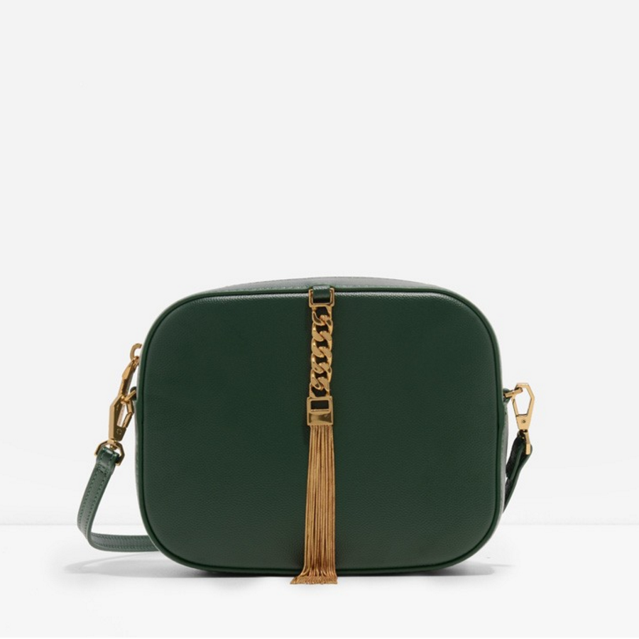 Charles Keith Tasselled Clutch