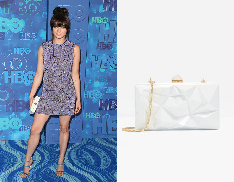 Maisie Williams Emmy Charles Keith Bag 2