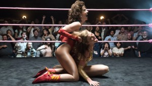 Ruth Wilder And Debbie Eagen In The Ring GLOW