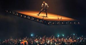 Kanye West Tilted Stage