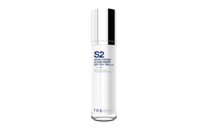 IDS Non-Tinted Sunscreen SPF50 PA+++, $69 for 50ml