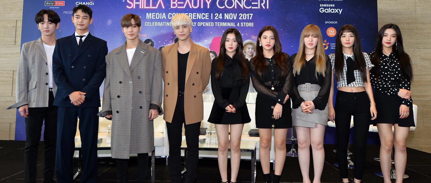 SHINee-Key-Minho-Taemin-Jonghyun-RV-Irene-Yeri-Wendy-Seulgi-Joy