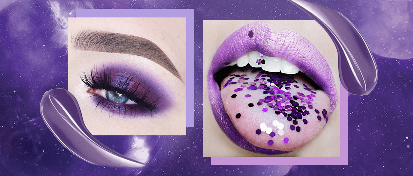 Pantone Color of the Year 2018 Ultra Violet Makeup Products