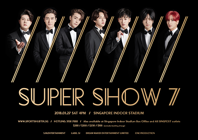 SUPER JUNIOR WORLD TOUR SUPER SHOW 7 in SINGAPORE