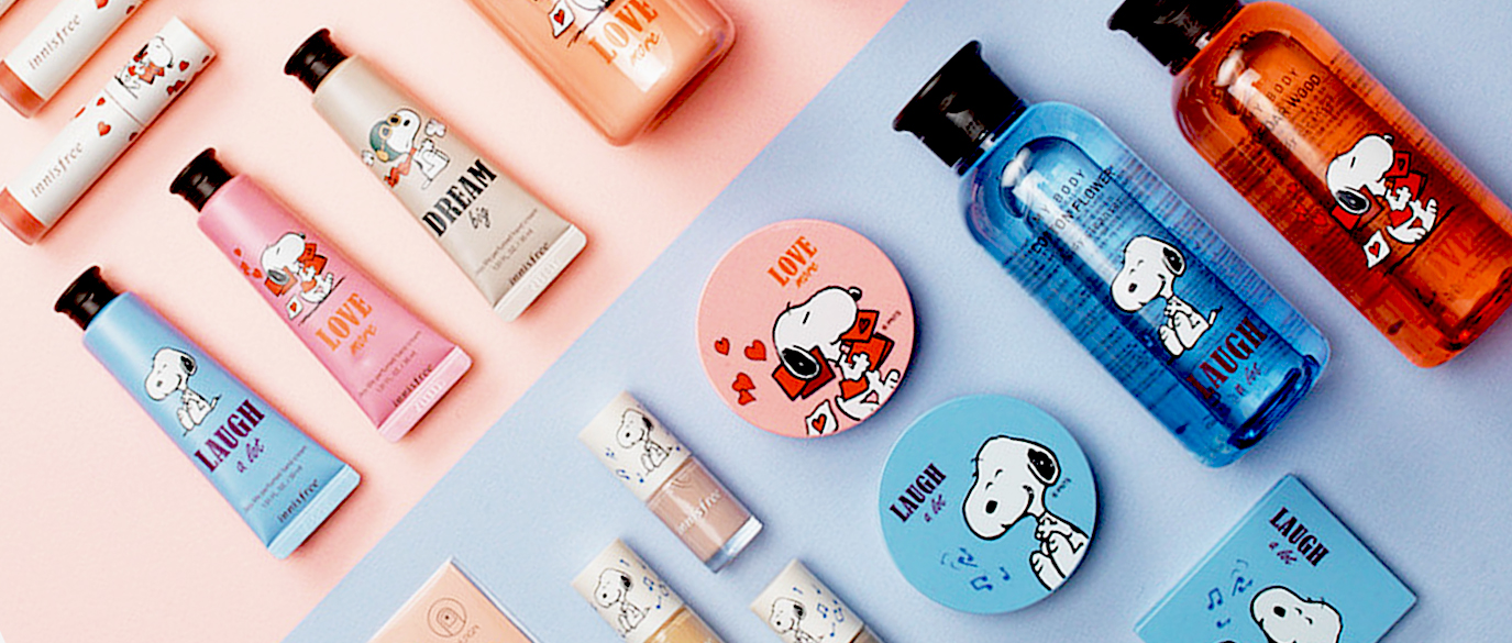 innisfree x Snoopy Limited Edition Collection Peanuts Singapore