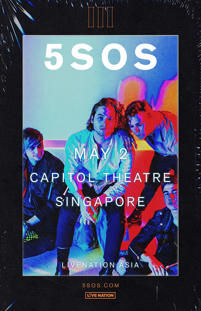 5SOS Live in Singapore 2018