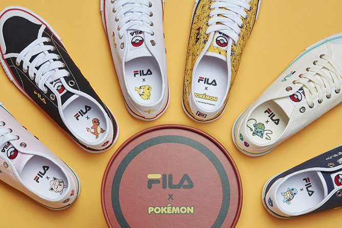 Pokemon x FILA