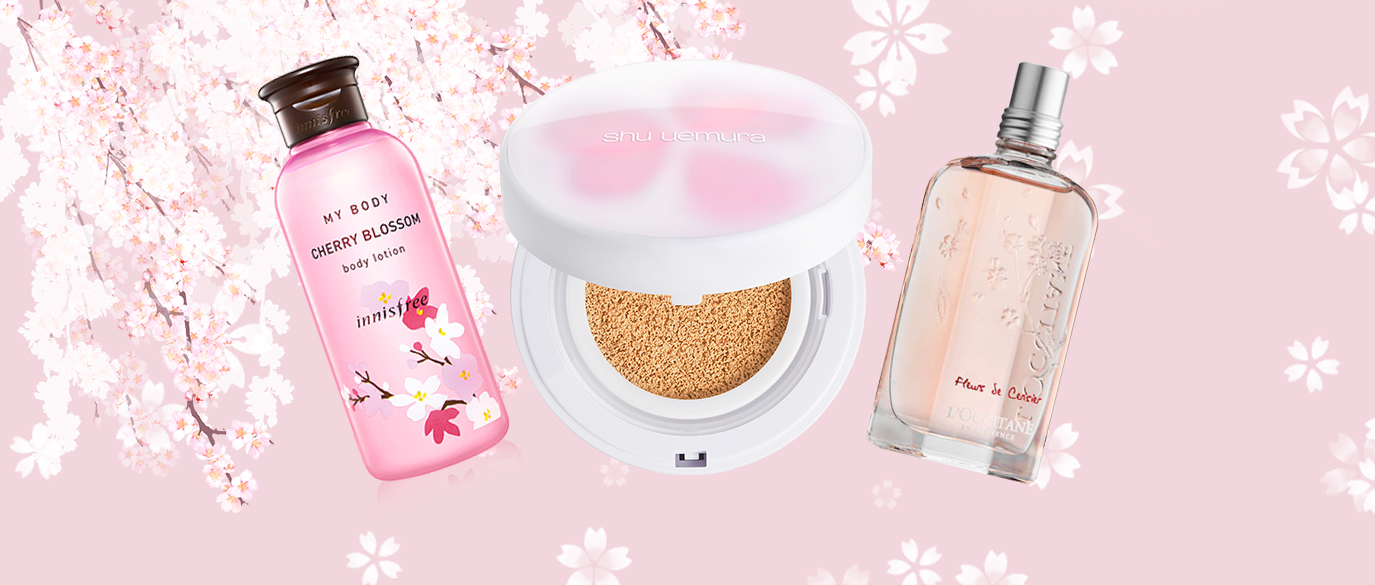 Cherry Blossom Beauty Products 2018