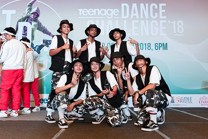 Street Dance Open 1st Runner Up-FACTION
