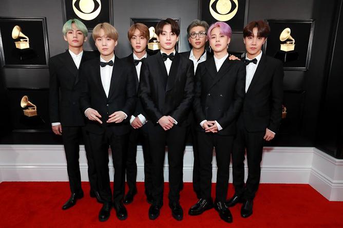 BTS 2019 Grammys