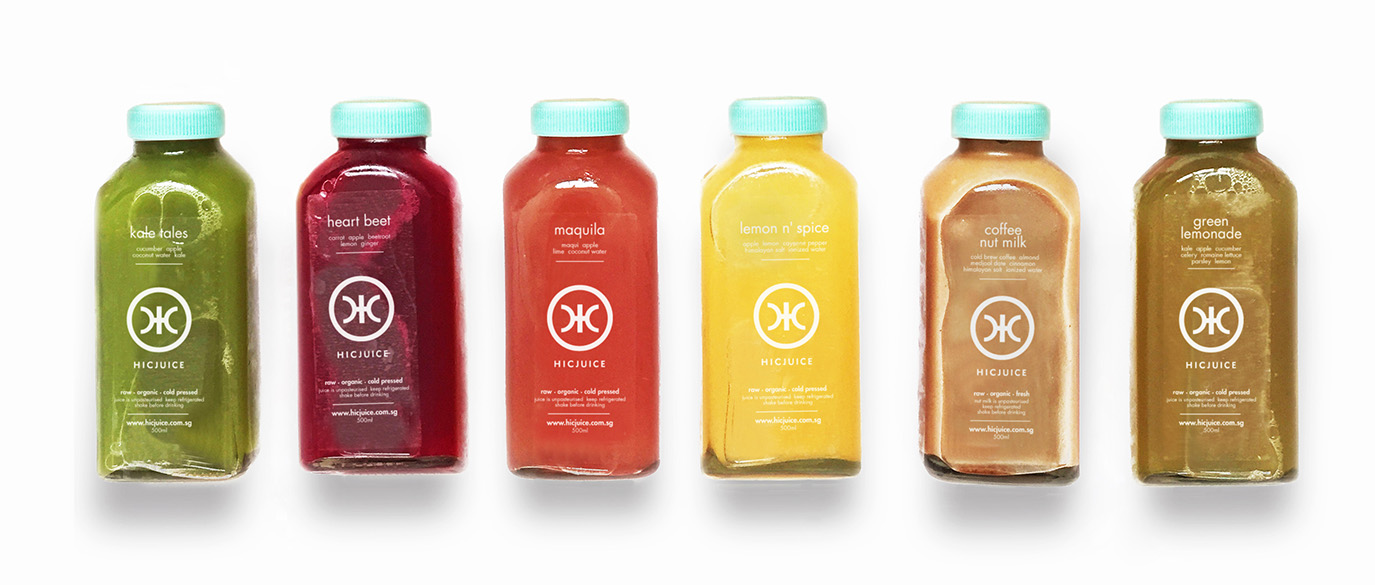 HIC&RUN Juice delivery